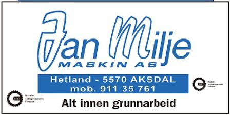 Jan Milje Maskin AS