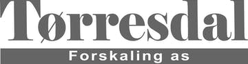 Tørresdal forskaling as logo