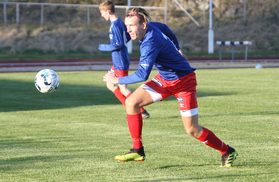 Kenneth Kristiansen dundret inn 1-0 etter bare tre minutter.