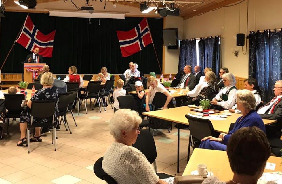 17. mai i Hervik.