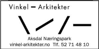 Vinkel – Arkitekter logo