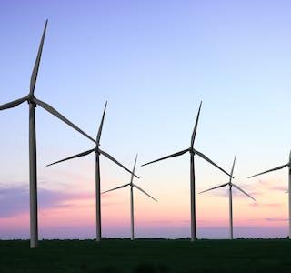 Det vart i dag meld at regjeringa har bestemt ikkje å innføre ei nasjonal ramme for vindkraft på land. Det meiner styreleder i KS, Gunn Marit Helgesen, var klokt. Foto: Shutterstock