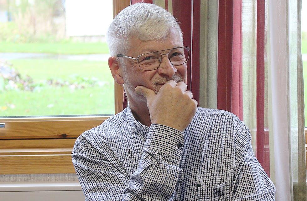 Lars Johan Lysen, fortsatt ungdommelig, og alltid med et lunt smil på lur.