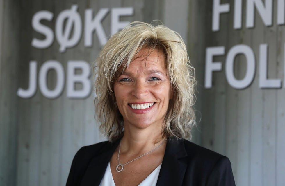 Elisabeth Lie Nilsen, leiar for NAV Marknad Nord-Rogaland.   Foto: Grethe Nygaard