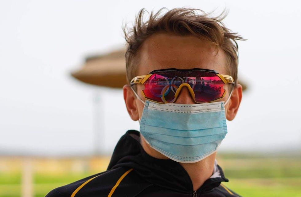 Lars Magne Ullvang slo kraftig tilbake etter sykdom og skal prøve å få en av to ledige OL-plasser på K1 1000 meter. Foto: PAdleforbundet