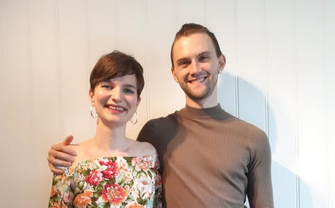 Håkon A. Liknes og Anna Amalie Kjelstad