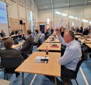 FRP og SP stemte for endringar i rådmannen sitt forslag i saka om Nedstrandstunet, men fekk ikkje fleirtal. Foto: Alf-Einar Kvalavåg