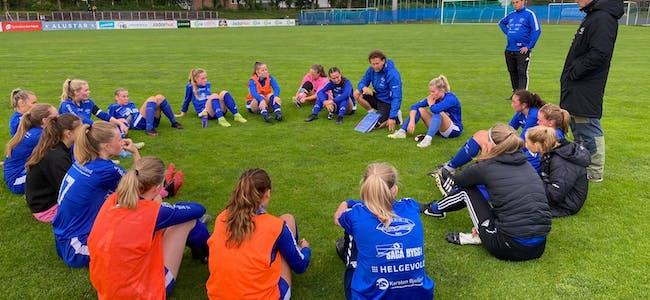 Det ble en solid gjennomkjøring for Falkeid-damene. Foto: Asbjørn Bakken