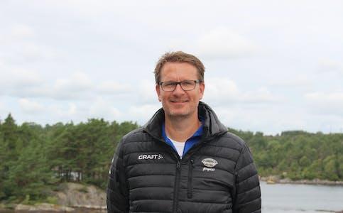 Daglig leder i Falkeid IL, Rune Waage, jobber med holdninger i barne- og ungdomsidretten.