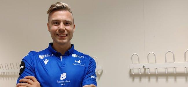 Alexander Søderlund har aldri lagt skjul på at han har hatt et ønske om å avslutte karrieren i FK Haugesund. Nå går ønsket i oppfyllelse. Foto: FKH
