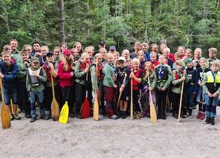 Troppsturen til Telemark var svært vellukka, og deltakarane kunne reise heim med mange nye minne.
