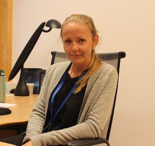 Mariann Eintveit Lie er glad for at kommunen nå kan tilby vaksine til alle over 12 år. Det skjer denne veka. Arkivfoto: Marit Tvedt