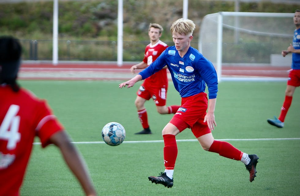 Håvard Søvik og Stegaberg vant mot Hemmingstad. Foto: Alf-Einar Kvalavåg