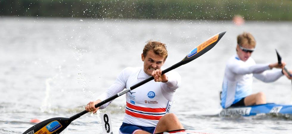 Lars Megna Ullvang ble nummer seks i VM, hans beste plassering noen gang. Foto: Ester Ayerdi